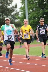 Colchester 10k run, final sprint