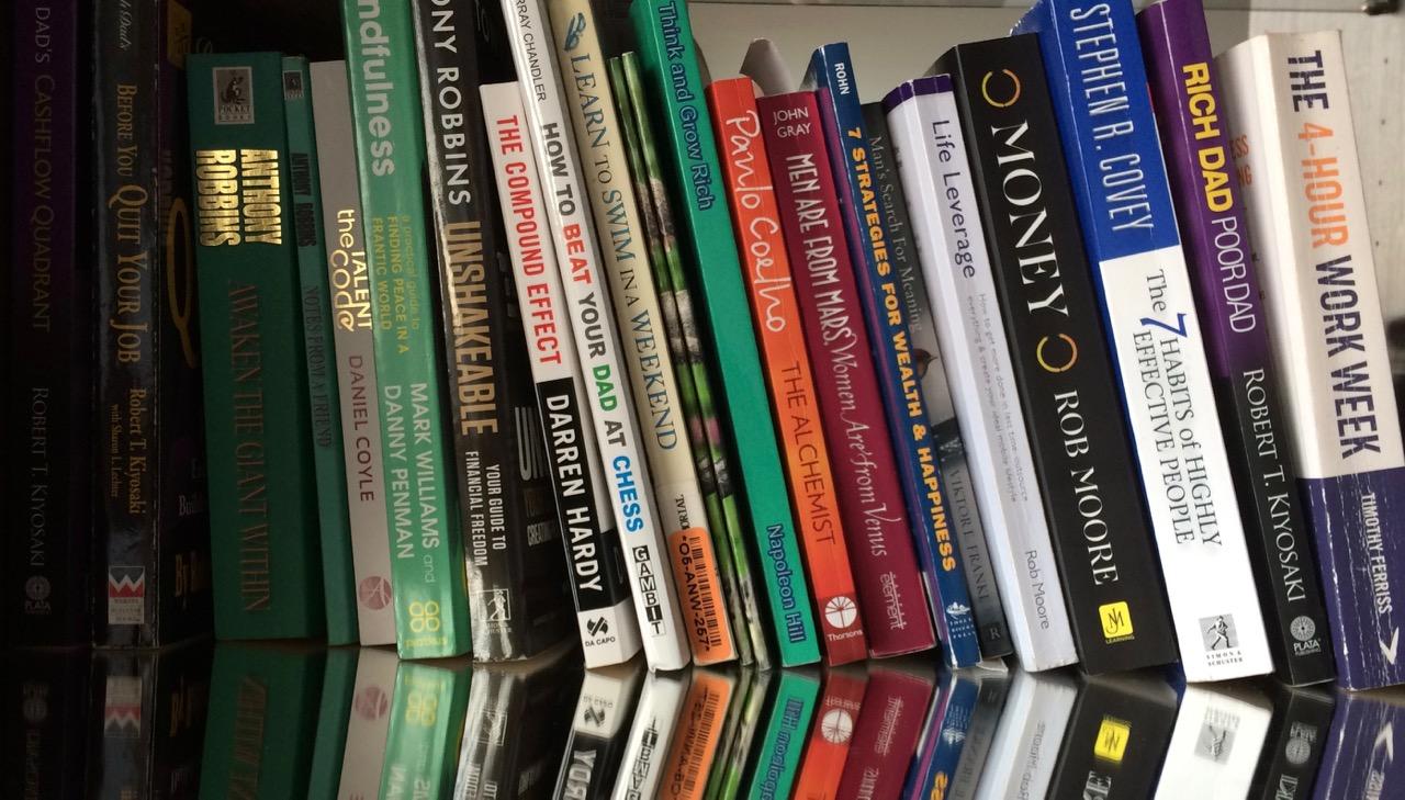 Personal development books